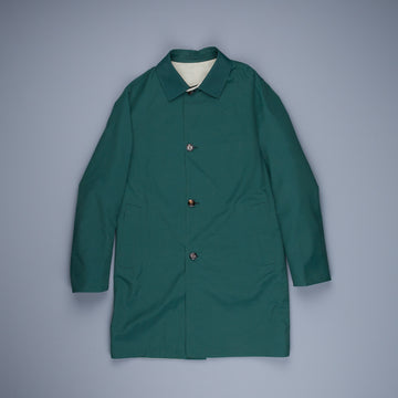Kired Ben Reversible Coat Holly Verde - Beige Chiaro