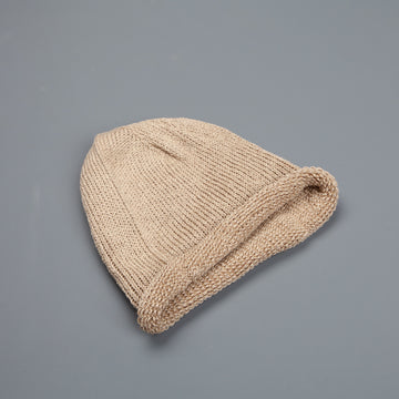 Inis Meain Donegal Linen Hat Dark Natural