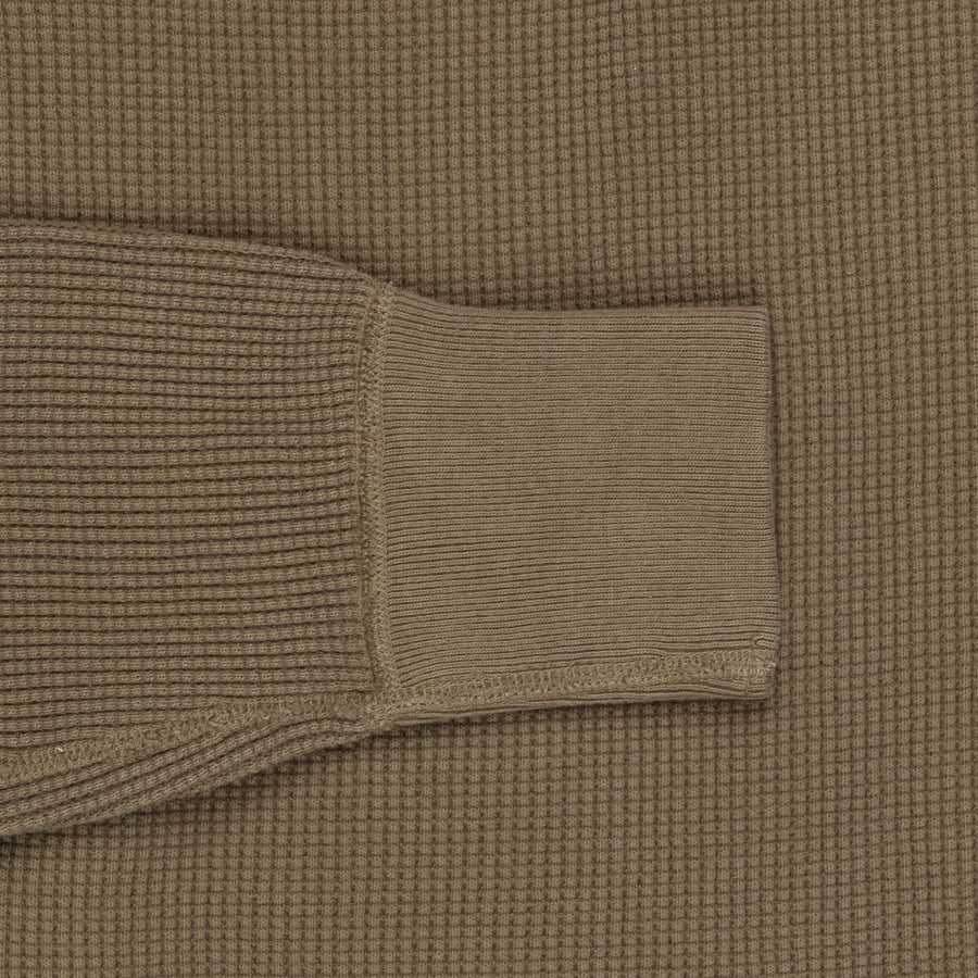 Studio d'Artisan 9937 Heavy Thermal Long Sleeves Khaki