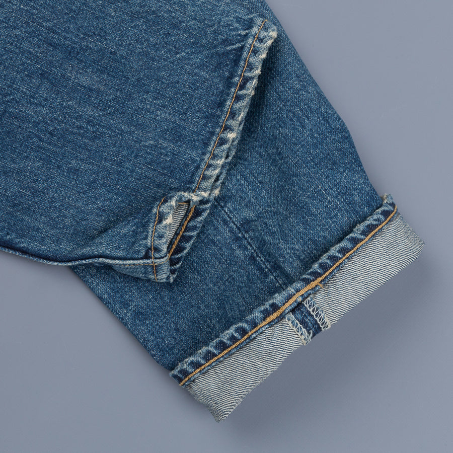 Studio D'Artisan D1803U Owner's Denim Used Wash