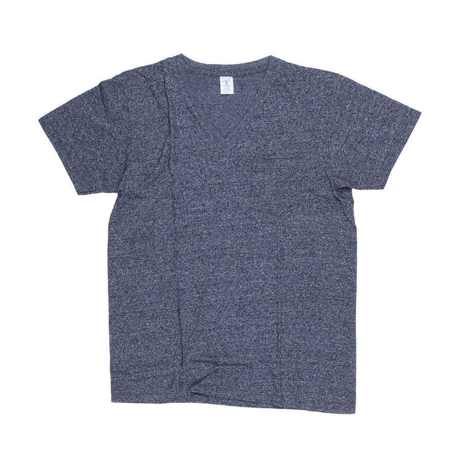 Velva sheen heathered tee V neck several colors