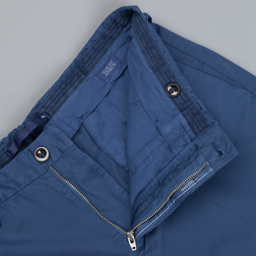 Incotex Model 36 Slim fit Short Royal Batavia Bluette