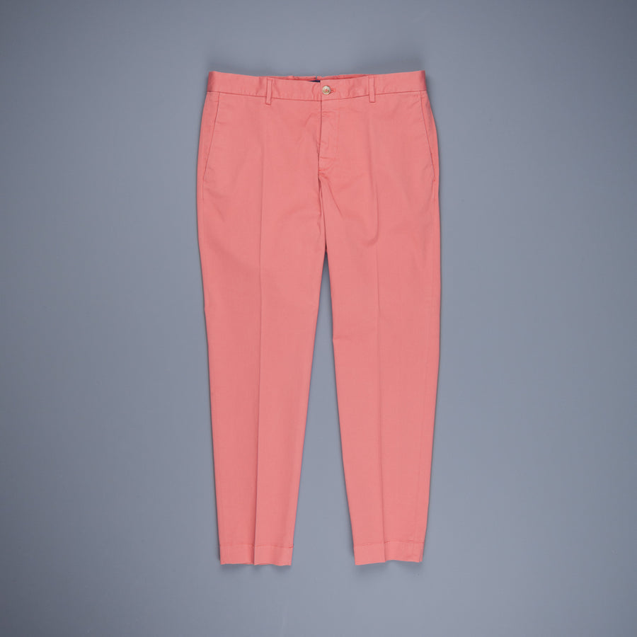 Incotex Model 53 Carrot fit pants Rosa Medio