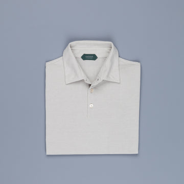 Zanone short sleeve polo ice cotton Sabbia