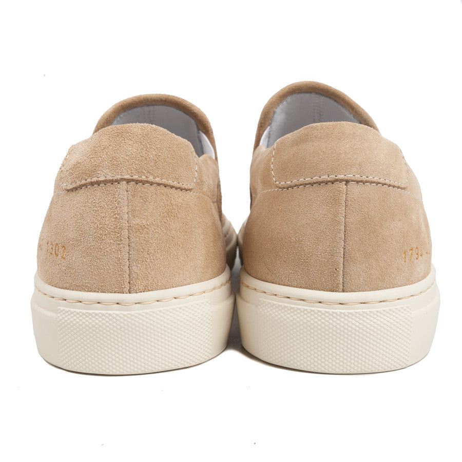 Common Projects 1794 slip-on Tan