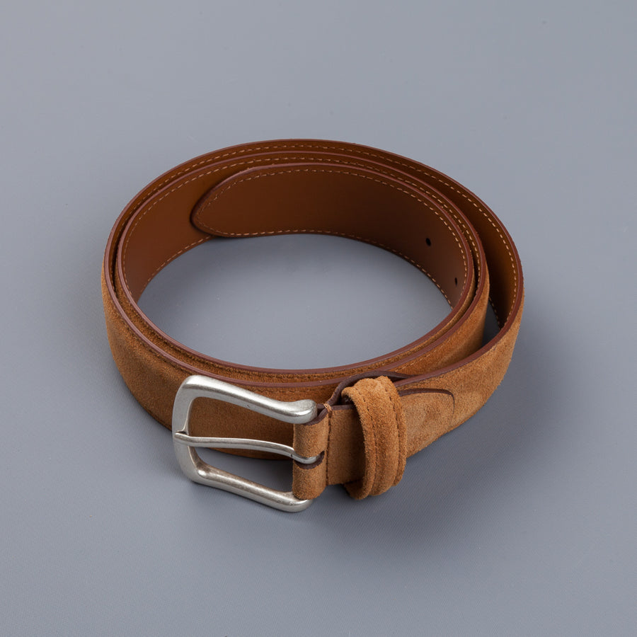 Anderson's x Frans Boone Snuff Suede Belt