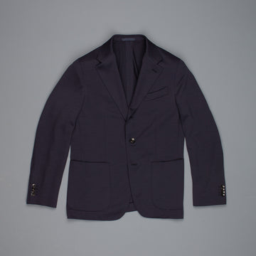 Caruso Butterfly Suit Jersey Wool Navy