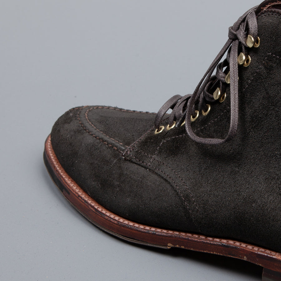 Alden Reverse Earth Chamois NST Boot on Commando Sole