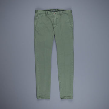 Incotex Slacks Model 103 Verde Medio