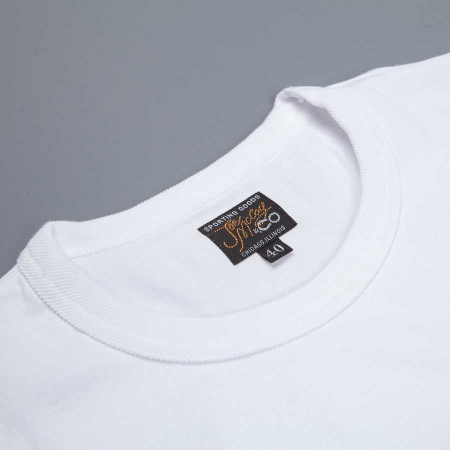 The Real McCoy's  Joe McCoy tee Hawai -  white