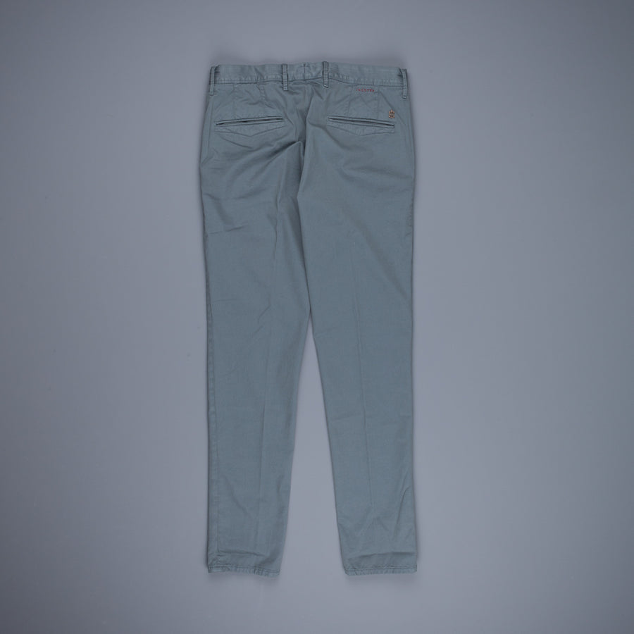 Incotex Slacks Model 100 Blu Medio