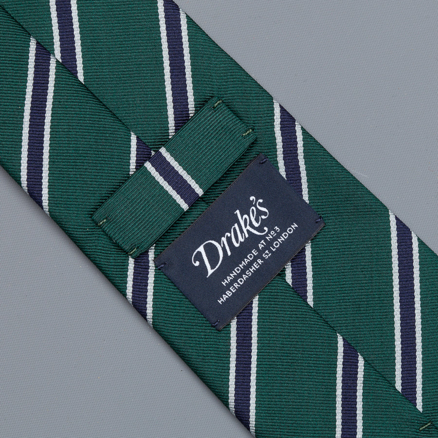 Drakes super repp Regimental tie Oxford & Cambridge Golf Society