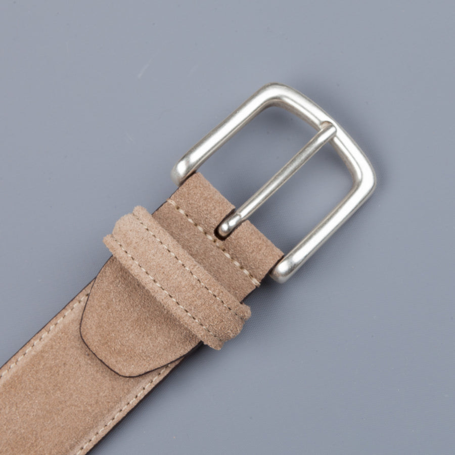 Anderson's x Frans Boone Tan Suede Belt