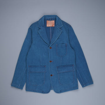 Studio DÁrtisan 4464U Handdyed Sashiko Jacket Blue Used