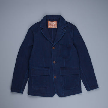 Studio DÁrtisan 4464 Handdyed Sashiko Jacket Dark Blue