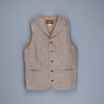 Orgueil Or-4143 Herringbone Gillet Brown