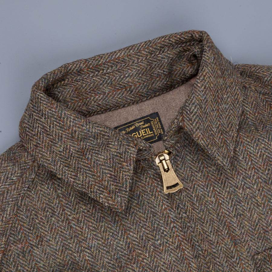 Orgueil OR-4138b Hunting Jacket Brown Herringbone