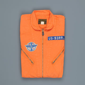 RRL Limited Edition K2B Flight Suit Faded Orange
