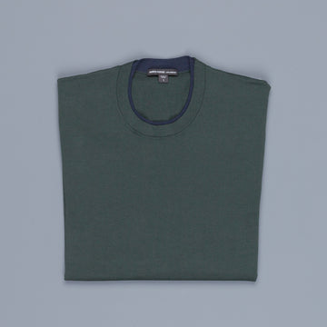 James Perse Fine Gauge Cotton Double Neckband Sweater sea week
