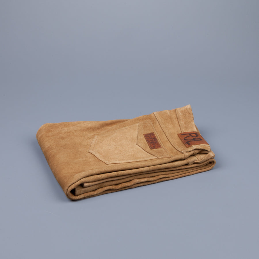 RRL Slim RO/Buck Pant Light Brown Suede
