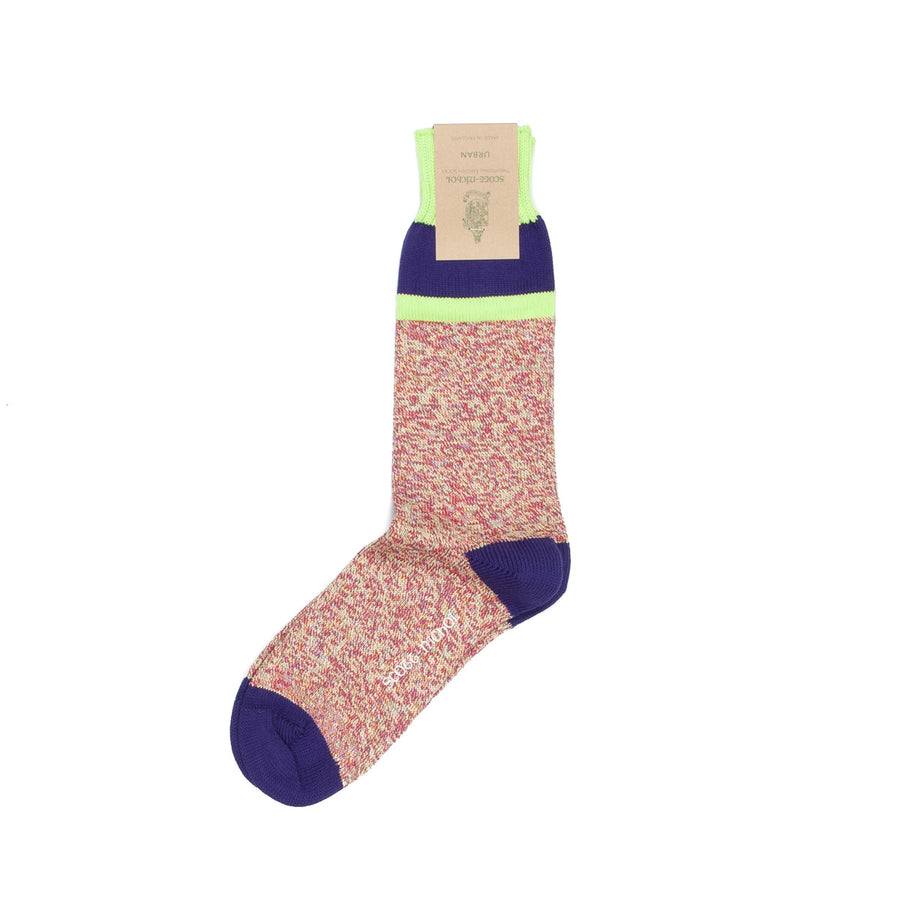 Scott Nichol donegal socks purple