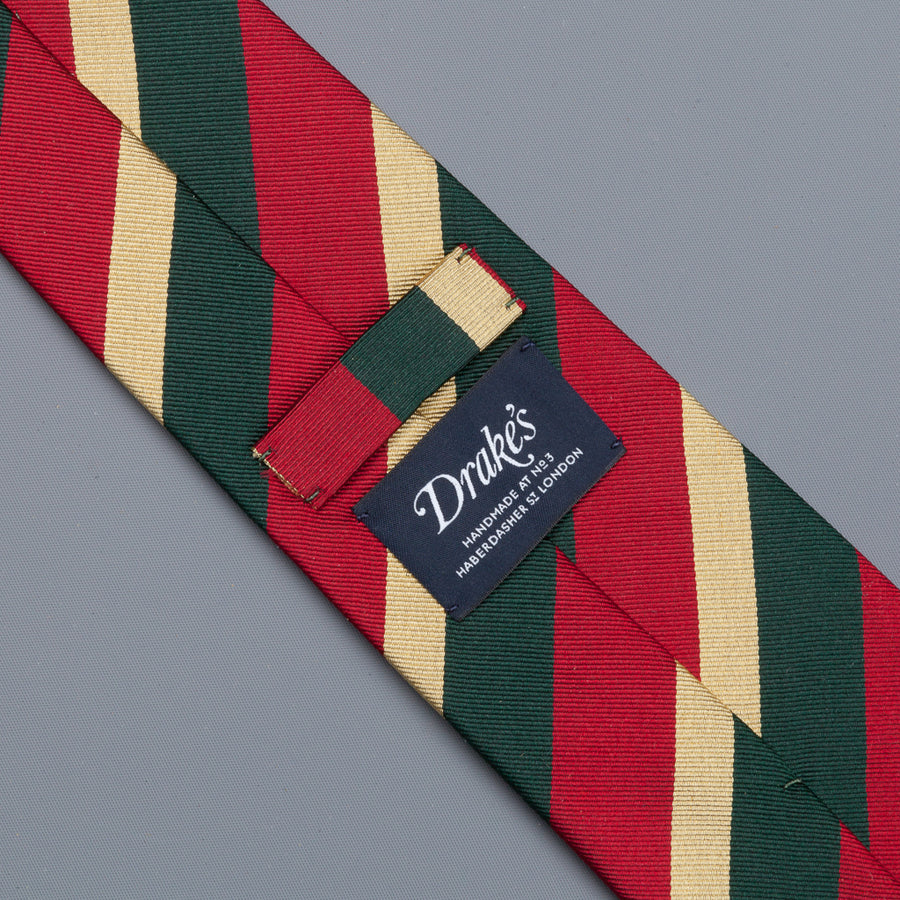 Drake's super repp Regimental tie 5th Royal Inniskilling Dragoon Guard
