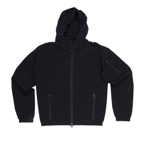 Aspesi Spi jacket in technical stretch dark navy
