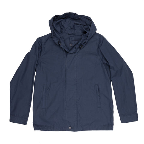 Aspesi armadillo cotton waxed coat in navy or yellow