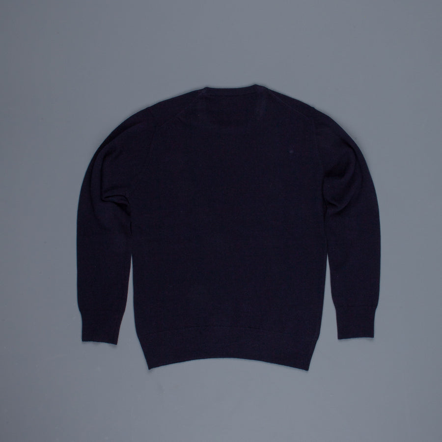 William Lockie x Frans Boone Super Geelong Vintage fit sweater Dark Navy