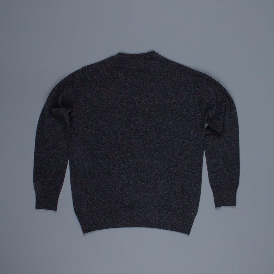 William Lockie x Frans Boone Super Geelong Vintage fit sweater Charcoal
