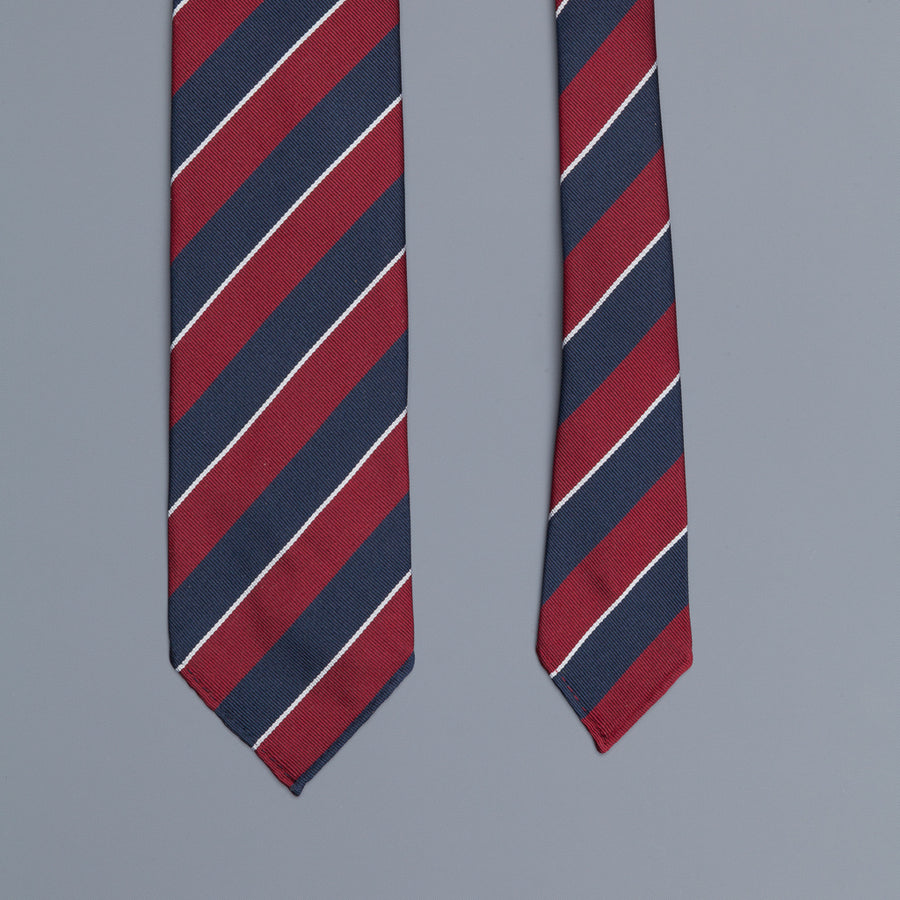 Drake's super repp Regimental tie 3rd Dragoon Guards