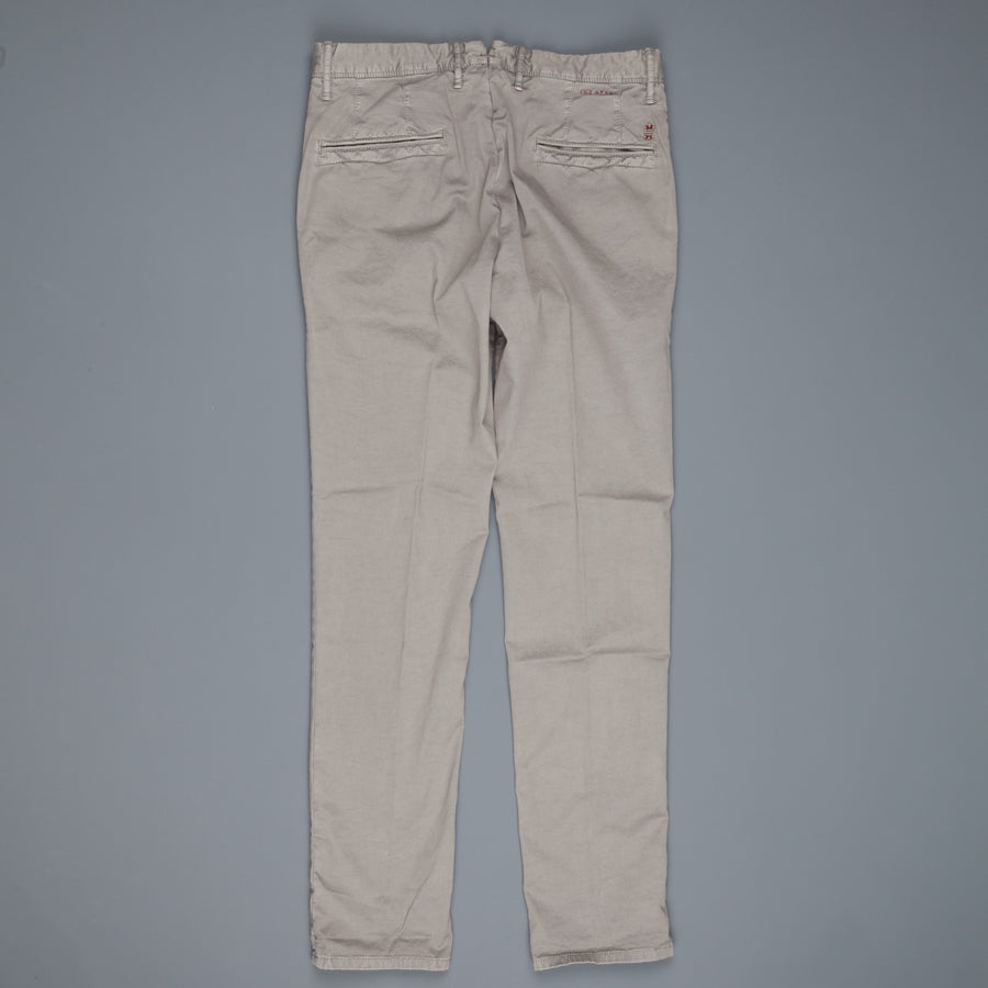 Incotex Slacks 1st603 Stretch Chino Grigio Medio