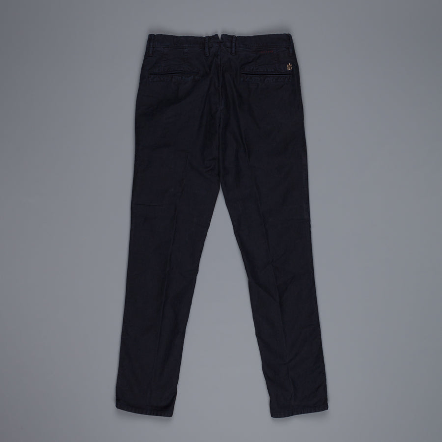 Incotex 1St603 Tricochino Slimfit Pants Antracite