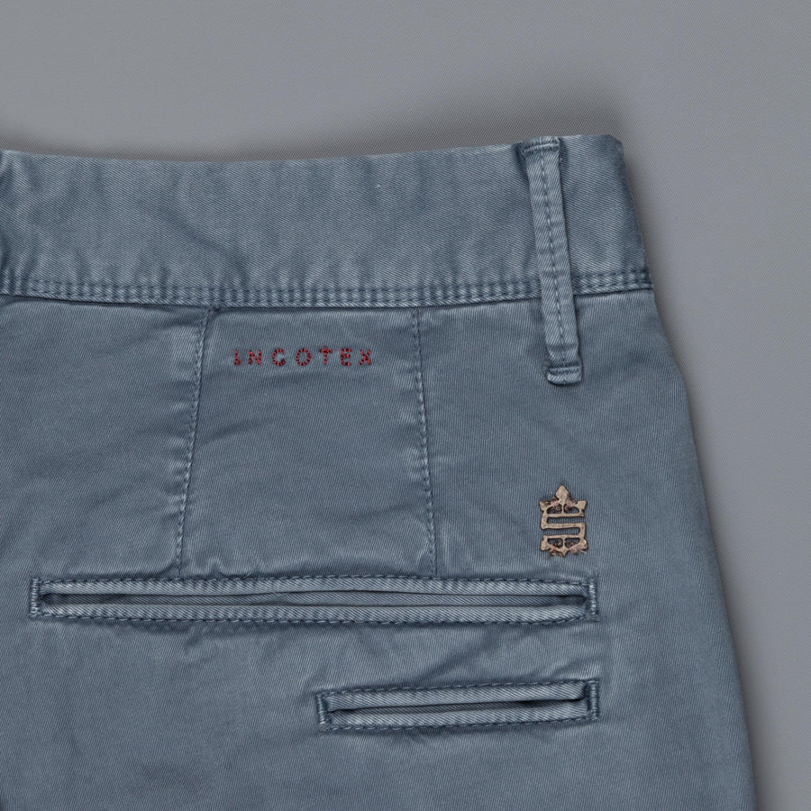 Incotex model 103 (former 619) pants Blu Medio
