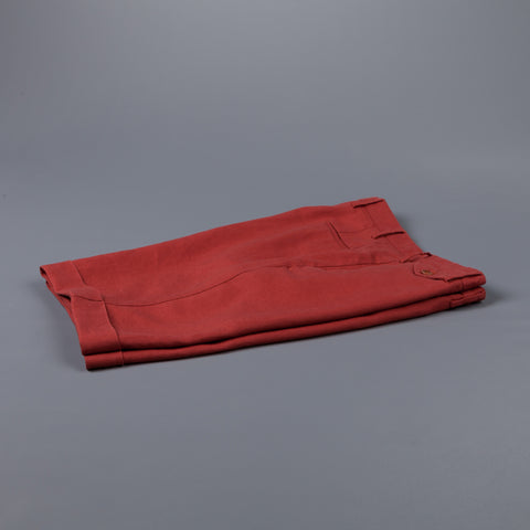 Incotex Model 30 Slim fit Short Brick Red Frans Boone Exclusive