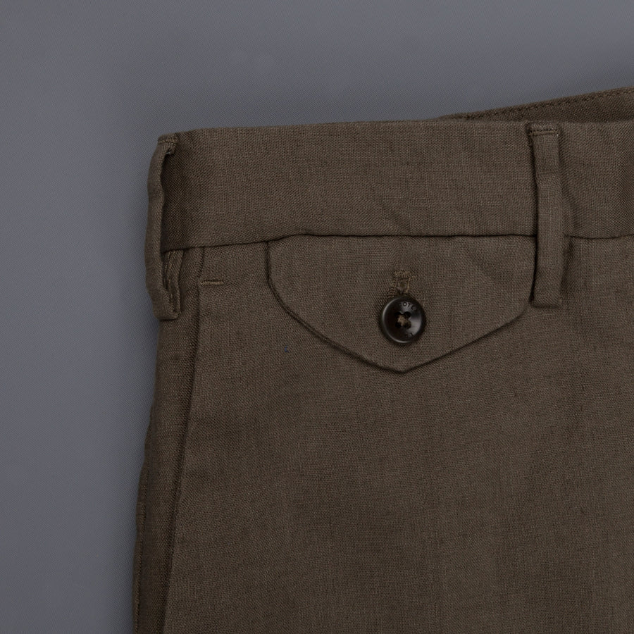Incotex Model 30 Slim fit Short Olive Frans Boone Exclusive