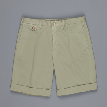 Incotex Model 36 Slim fit Short Royal Batavia verde marcio chiaro