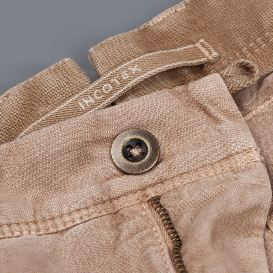 Incotex Slacks, model 531 shorts beige medio
