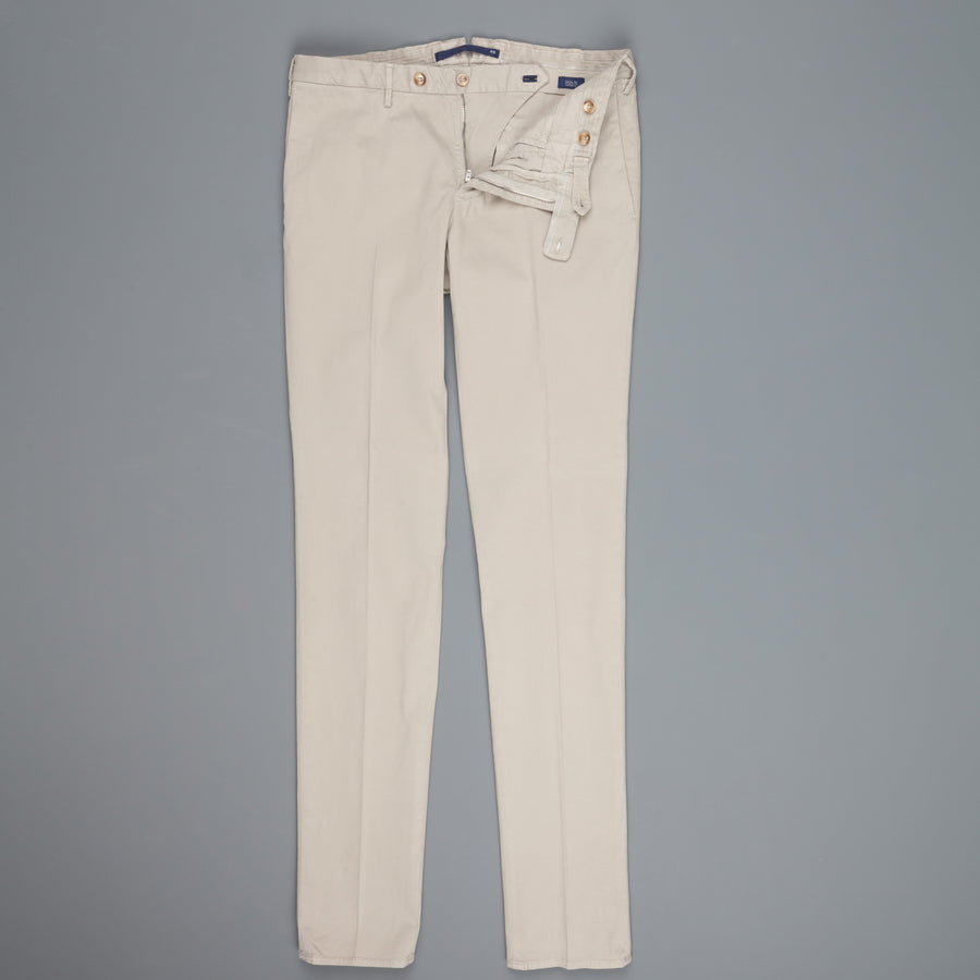 Incotex Venezia model 82 skin fit trico chino pants grigio medio