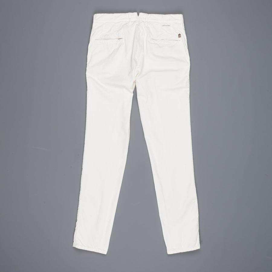 Incotex Slacks 1st603 Stretch Chino Piquet Naturale