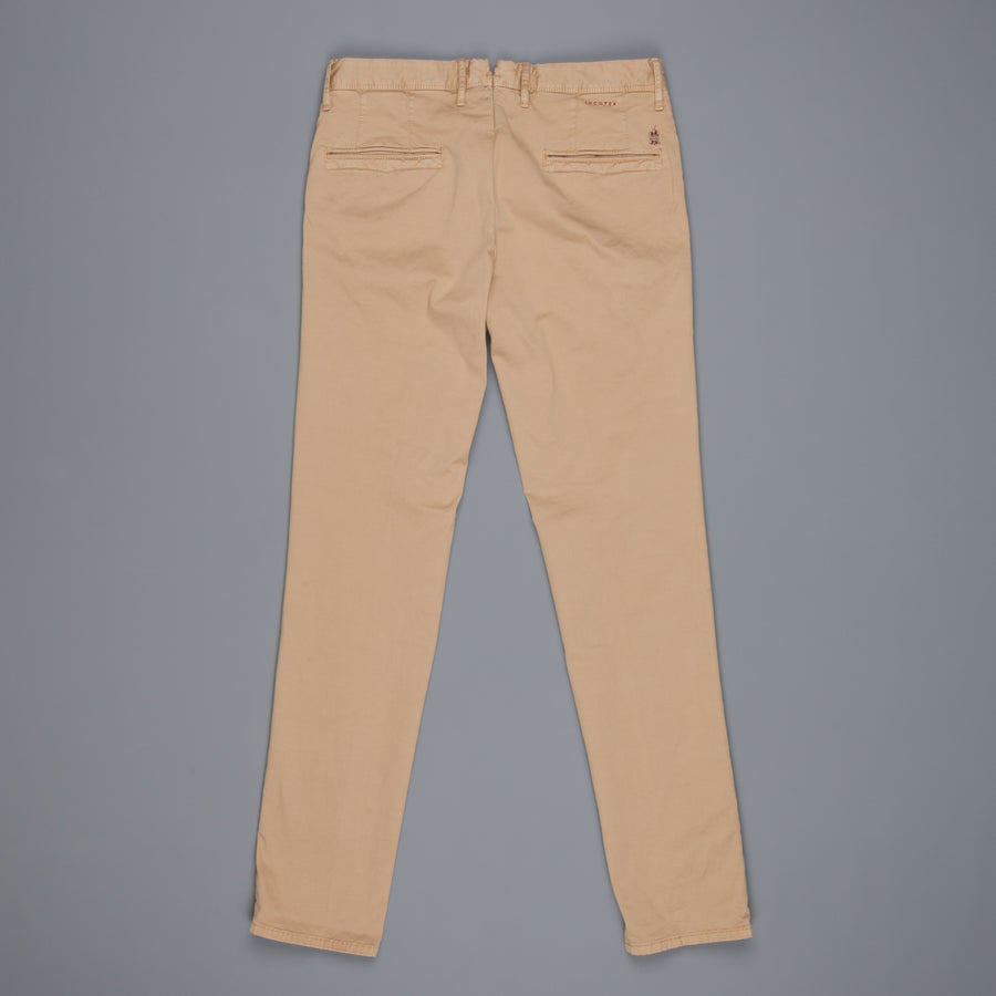 Incotex Slacks 1st603 Stretch Chino Noce Medio