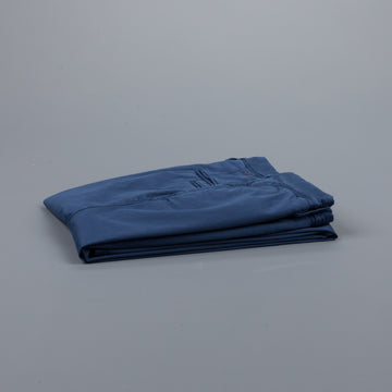 Incotex Slacks 1st619X Stretch Chino Blu Medio