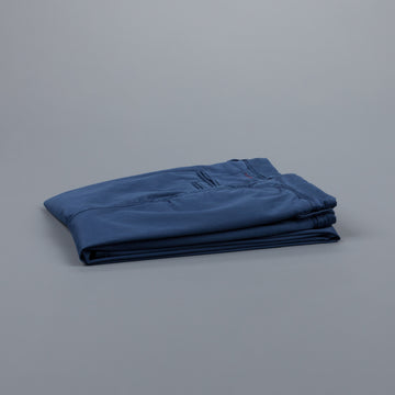 Incotex Slacks 1st603 Stretch Chino Blu Medio