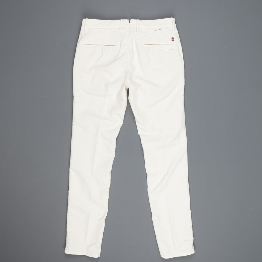 Incotex Slacks skinfit model 1ST619 cotton stretch Ghiaccio