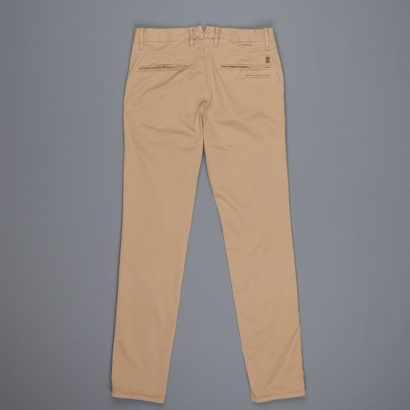 Incotex Slacks 1st619X Stretch Chino Noce Medio