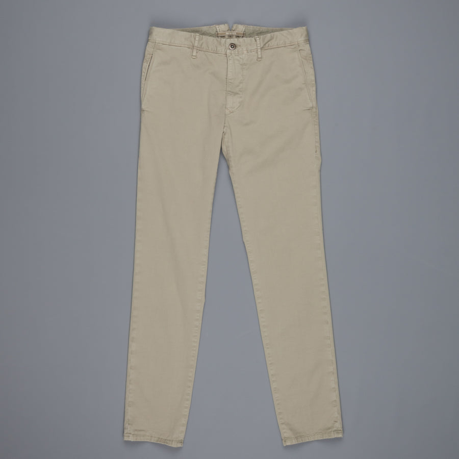 Incotex Slacks 1st619X Stretch Chino Verde Marcio Chiaro