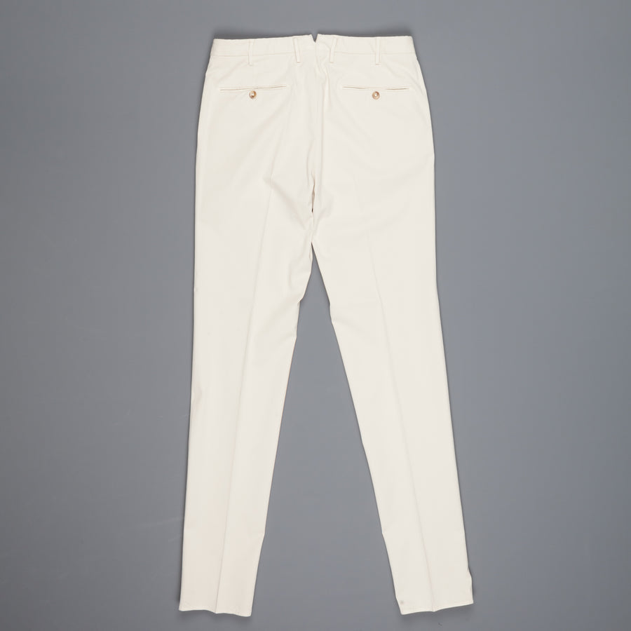 Incotex Venezia Model 16 Tapered Fit Royal Batavia Bianco Naturale