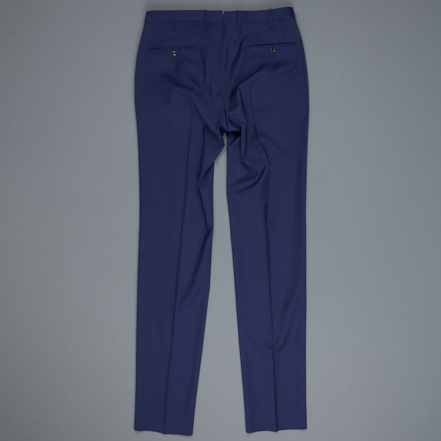 Incotex Venezia 1at039 wool s130's pants Estate Blu