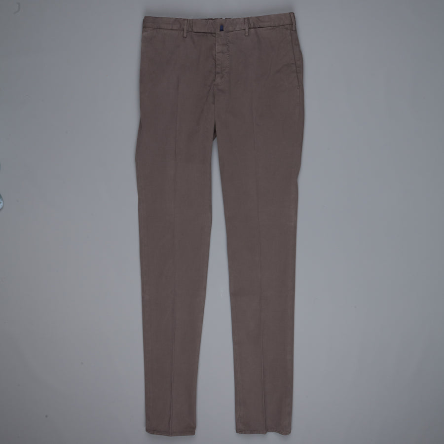 Incotex Venezia model 82 skin fit trico chino pants Grigio Scuro