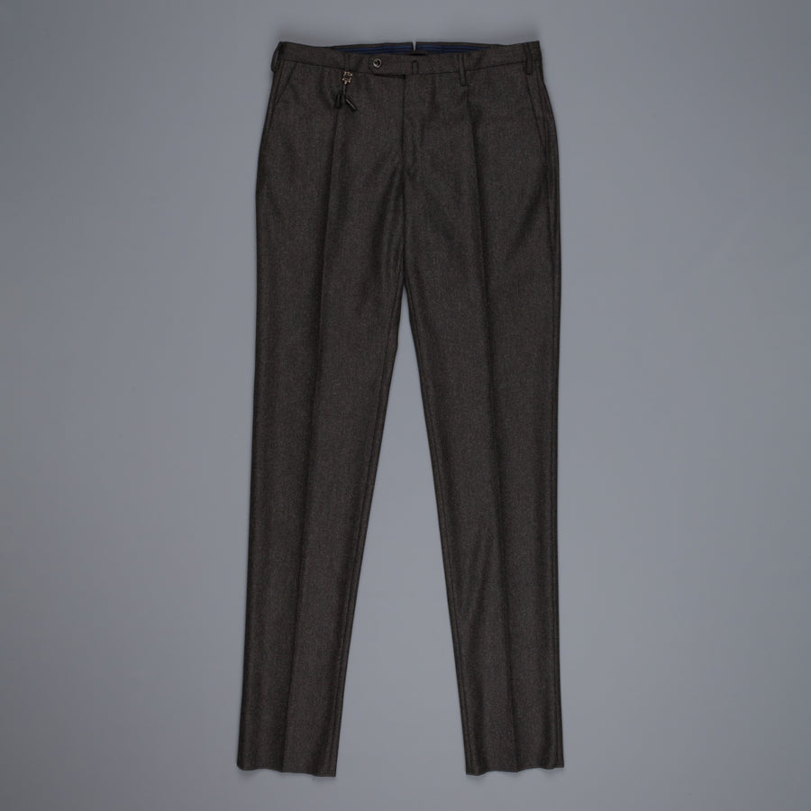Incotex Venezia Model 16 Tapered Fit Flannel Verde Marcio Scuro